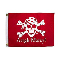 Arrgh! Matey Pirate Flag
