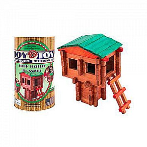 Roy Toy Mini Canister - Tree House