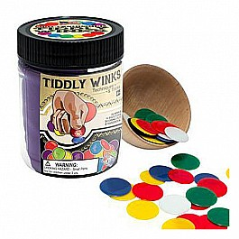Tiddly Winks Color Canvas