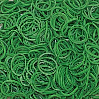 Solid Bands - Dark Green