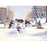 Cobble Hill - Doggone Winter 400pc
