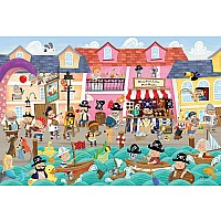 Pirates on Vacation (48 Pc Floor Puzzle)