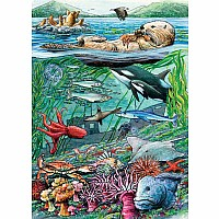 35 pc Tray Puzzle Life On the Pacific Ocean