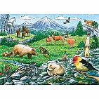 Rocky Mountain Wildlife Puzzle