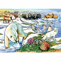35 pc Tray Puzzle Arctic Adventure