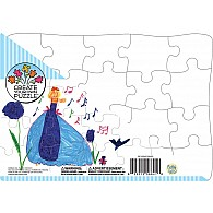 "20 pc Create Your Own 10""x14"" Tray Puzzle"