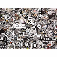 Black & White: Animals - 1000 Pieces