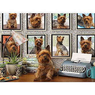 Yorkies Are My Type (Cobble Hill - 1000pc)
