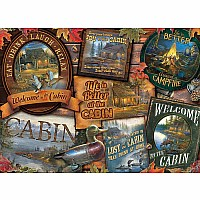 Cabin Signs - 1000 Pieces