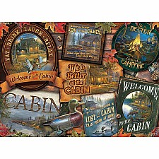 Cabin Signs