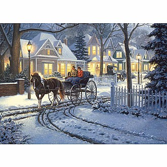 Horse-Drawn Buggy (Cobble Hill - 1000pc)