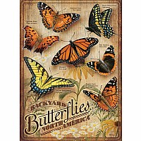 Backyard Butterflies - 500 Pieces