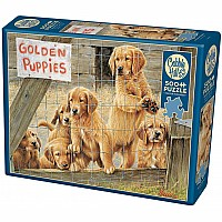 Golden Puppies - 500 Pieces