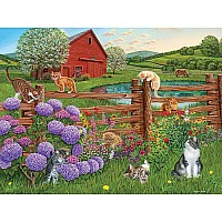 Farm Cats (275 Pc Easy-Handling)