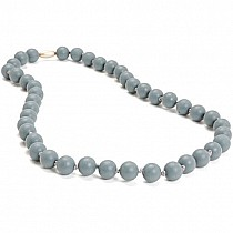 Chewbeads Grey Teething-Necklace