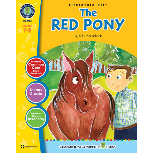an analysis of the novel the red pony by john steinbeck The red pony by john steinbeck  with billy buck, the hired hand, jody tends  and trains his horse, restlessly anticipating the moment  the neverending story.