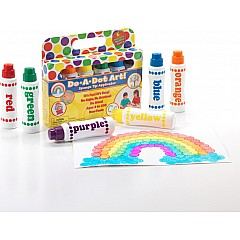 Do-A-Dot Art 6 Pack Rainbow Washable Markers