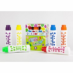 Do-A-Dot Art 6 Pack Scented Juicy Fruit Washable Markers