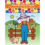 Do-A-Dot Art Farm Animals Activity Book