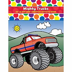 DO-A-DOT ART MIGHTY TRUCKS ACTIVITY BOOK