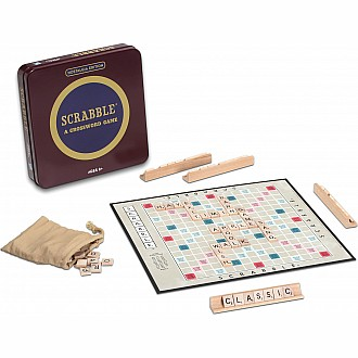 Nostalgia Tin-Scrabble