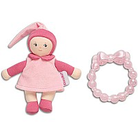 Babicorolle Pink Mini Miss & Baby Teether