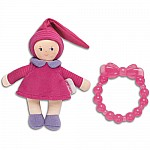 Corolle Babicorolle Grenadine Mini Miss & Baby Teether