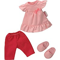 Corolle Les Cheries Pajamas & Slippers Set