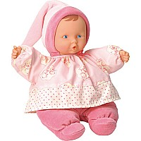 Babipouce Pink Cotton Flower Doll