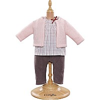 Corolle Mon Premier Blouse & Cardigan & Pants Set