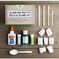 Glowing Putty, Gels & Slime Kit