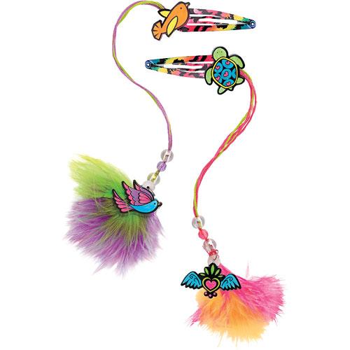 shrinky dinks neon jewelry - creativity for kids