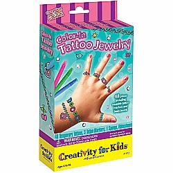 Color-in Tattoo Jewelry