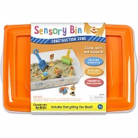 Sensory Bin Construction Zone