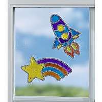 Window Art Outer Space
