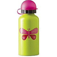 Drinking Bottle Pink Butterfly