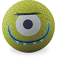 Crocodile Creek Creetures Alien Lime Green Playground Ball 5 inches