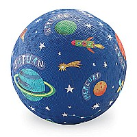 Crocodile Creek Solar System Blue Playground Ball 5 inches