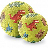 Crocodile Creek Dinosaurs Green Playground Ball 7 inches