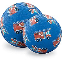"Fire Engines 7"" Playground Ball"