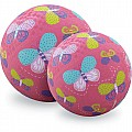 Crocodile Creek Butterflies Pink Playground Ball 7 inches
