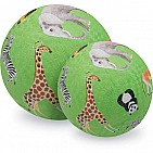7 Inch Wild Animals Ball