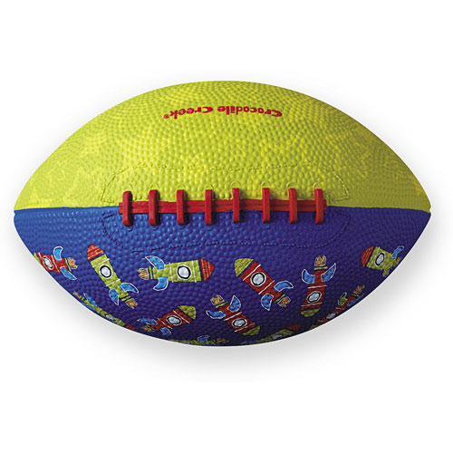 for Ages 3 /& Up Sharks Kids Rubber Football 8 Crocodile Creek