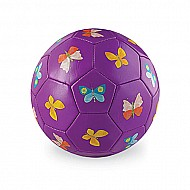 Crocodile Creek Butterflies Purple Kids Soccer Ball Size 2, 5.5 inches