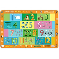 Counting Animals Placemat