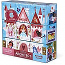 Crocodile Creek Little Architect Girl Builder Jumbo Block Set Mix and Match Stacking Set, 3.5f""