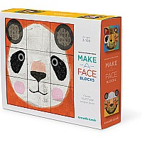 Make-A-Face Blocks Animal Mix & Match Block Stacking Set
