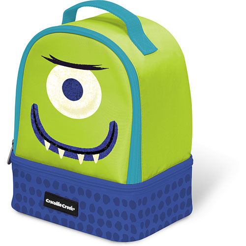 57f248acf3 Crocodile Creek Eco Kids Alien Insulated Two Compartment Kids  Lunchbox  9.5