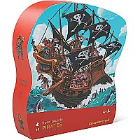 36 pc Shaped Puzzle - Pirates