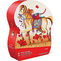 36 pc Shaped Puzzle - Horse